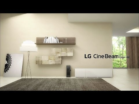 LG CineBeam Laser 4K | Most Transformative 4-in-1 4K Laser Projector – Features you should know | LG
