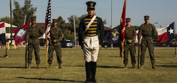 9 Facts About Marines- Marines were formed before the USwon our independence from the Brits