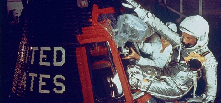 9 Facts About Marines-The first Americanto orbit the Earth was a Marine