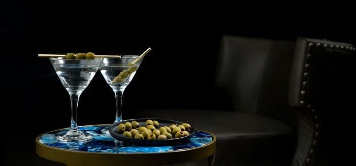 How to Order a Vodka Martini-The Garnish 1