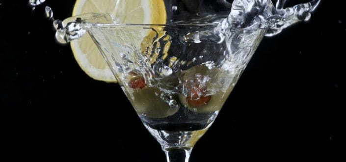 How to Order a Vodka Martini-The Garnish