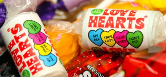 Tips for a Successful Valentine's Day-Hide candy hearts
