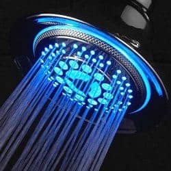 dreamspa color changing LEF shower head