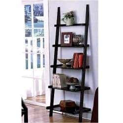 72 leaning ladder bookshelf