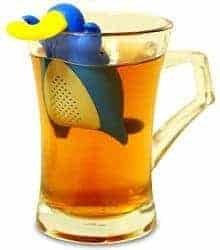 happy platypis loose leaf tea infuser