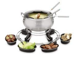 lazy susan electric fondue maker