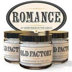 old factory romance candles