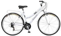 schwinn discover womens hybrid bike