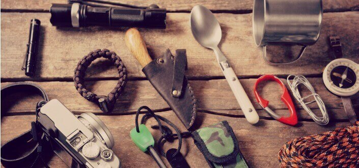 camping checklist - essential items