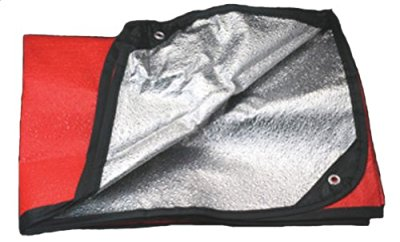 camping checklist - thermal blanket