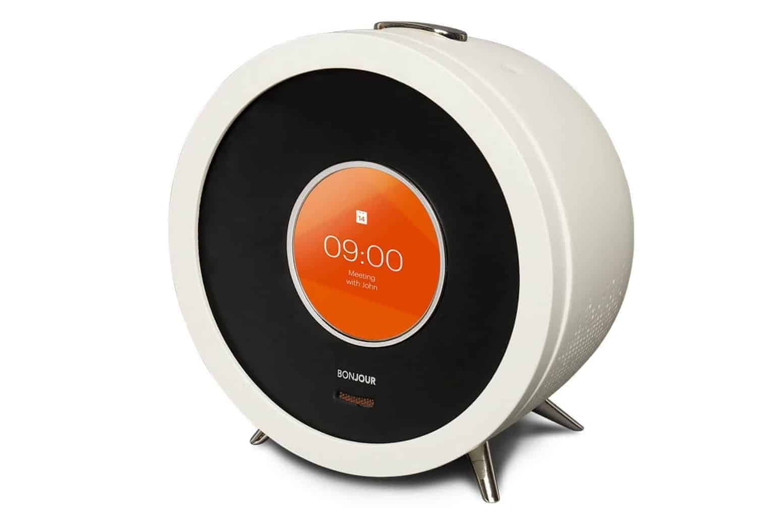 Bonjour Smart Alarm Clock The World S Smartest Alarm Clock Mantelligence
