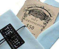 Gift Certificate for Cyberoptix Tie