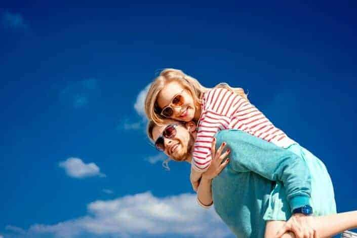 insanely romantic things to do for your girlfriend - carry her upstairs after a night in heels… or give her a piggyback ride