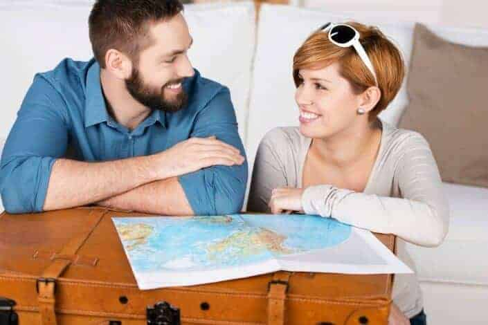insanely romantic things to do for your girlfriend - make a travel bucket list