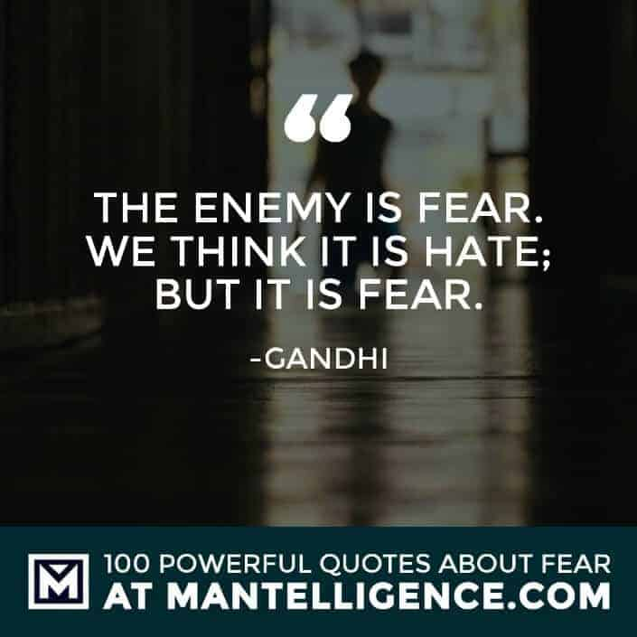 100 Fear Quotes To Crush Your Fears