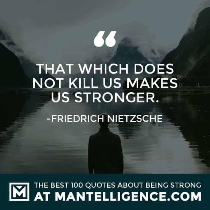 quotes about strength #77 - That which does not kill us makes us stronger.