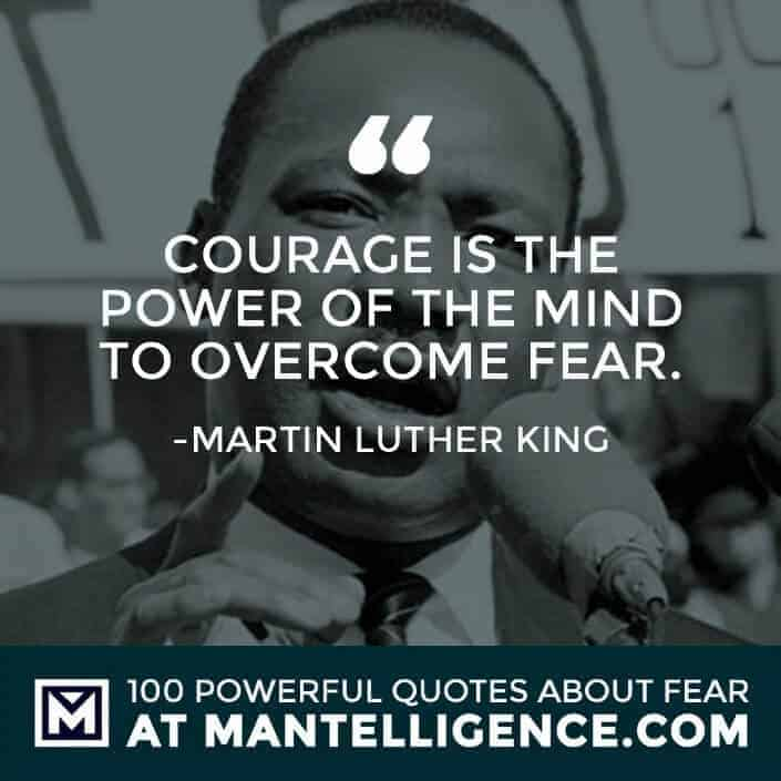 fear quotes #81 - Courage is the power of the mind to overcome fear.