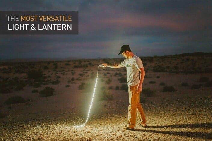 Luminoodle LED Rope Lights And Lantern - 2