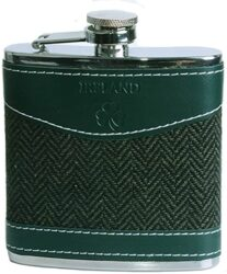 Unique Tweed Covered Flask
