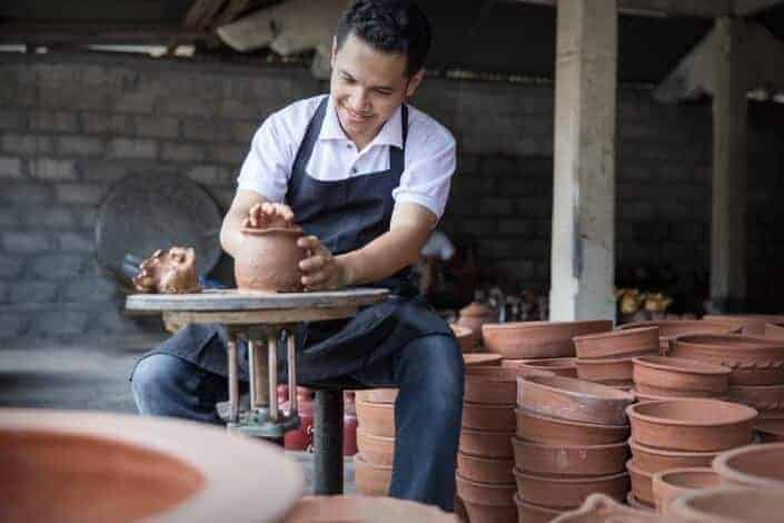 hobbies for men - ceramics