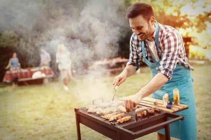 hobbies for men - grilling