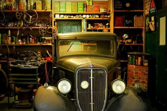 hobbies for men - restoring classic cars