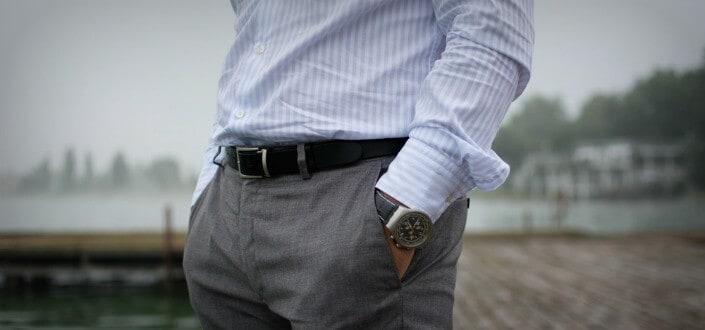 style rules - match watch + belt