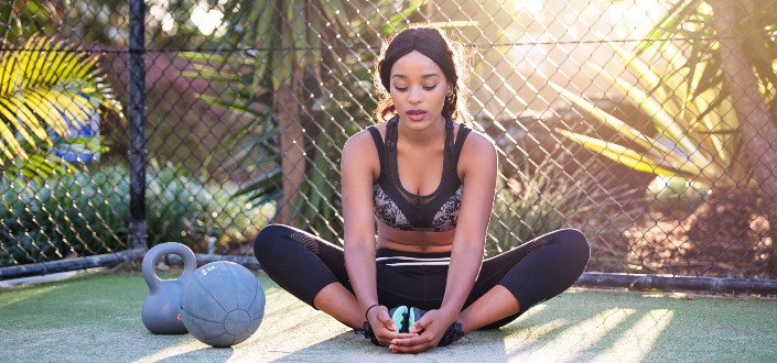 Signs Your Girlfriend is Cheating - She's working out or dieting, and you're not invited to join her
