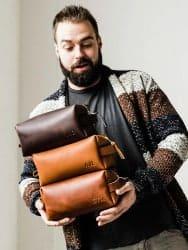 Christmas Gift Guide - Portland Leather Toiletry Bag