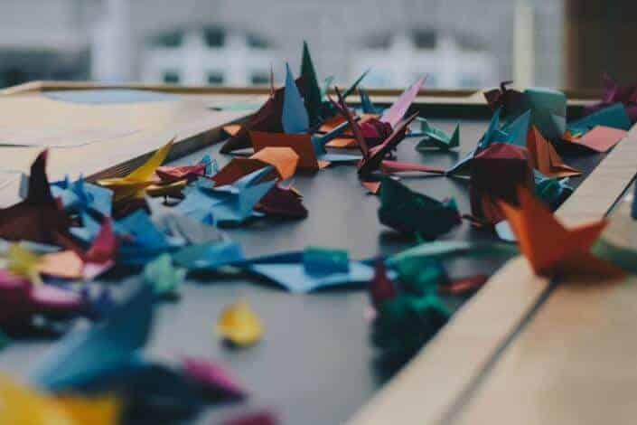 list of hobbies - Origami