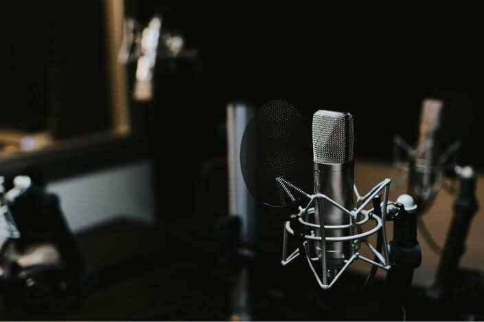 list of hobbies - podcasting