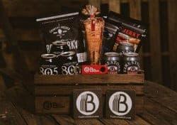 Beer Gifts - Beer & Beef Jerky Gift Basket