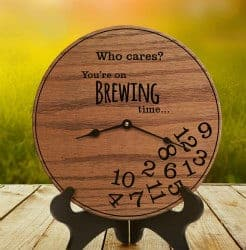 Beer Gifts - Brewery Time Clock