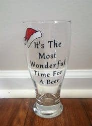 Beer Gifts - Christmas Beer Glass
