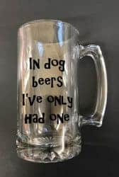 Beer Gifts - In dog beers I've only had one beer mug