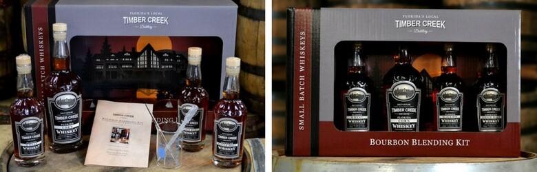 Christmas Gift Guide - Timber Creek Distillery Bourbon Blending Kit 1