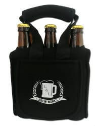 L&L Brew Works 6 Pack Craft Beer Carrier