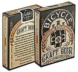 craft beer gifts - BICYCLE CRAFT BEER PLAYING CARDS 2 DECKS