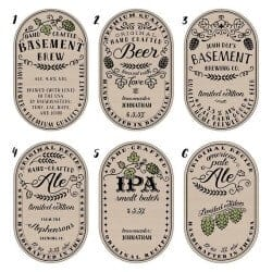 craft beer gifts - CUSTOM BEER LABELS %u2013 PERSONALIZED CRAFT BEER BOTTLE LABELS