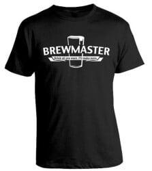 craft beer gifts - HOMEBREWING SHIRT