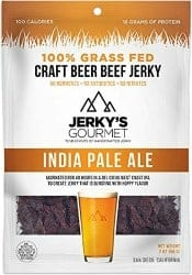 craft beer gifts - IPA Beer Cured Jerky