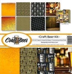 craft beer gifts - REMINISCE CRAFT BEER SCRAPBOOK COLLECTION KIT