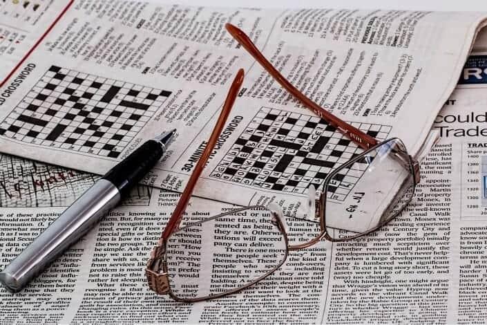 list of hobbies - Crossword Puzzles