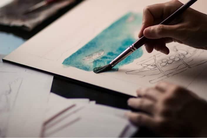 list of hobbies - Painting