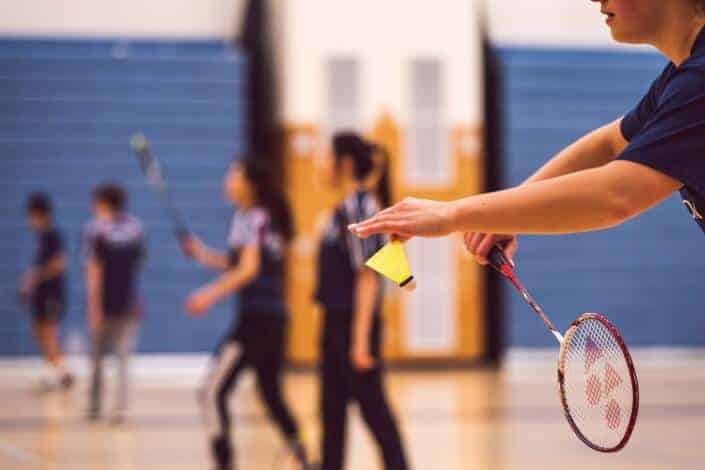 hobbies for couple-badminton