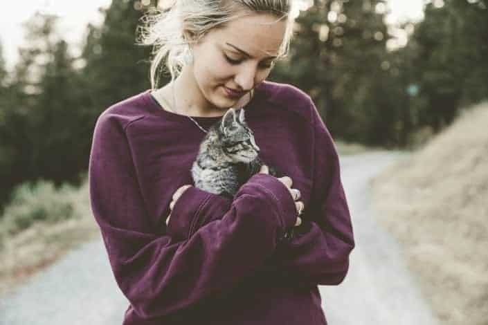 questions to ask - Who is more likely to bring home an abandoned kitten or puppy_