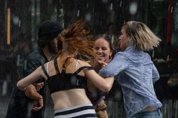 weird questions to ask - Never have I ever danced in the rain_