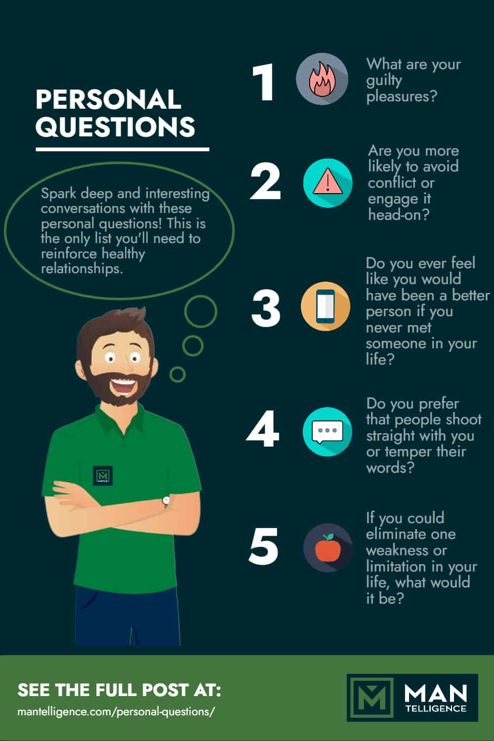 Personal Questions - Infographic