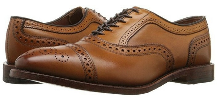 7 Things Girls Wish Guys Knew - Shoes Allen Edmond's Strand Cap-toe Oxfords