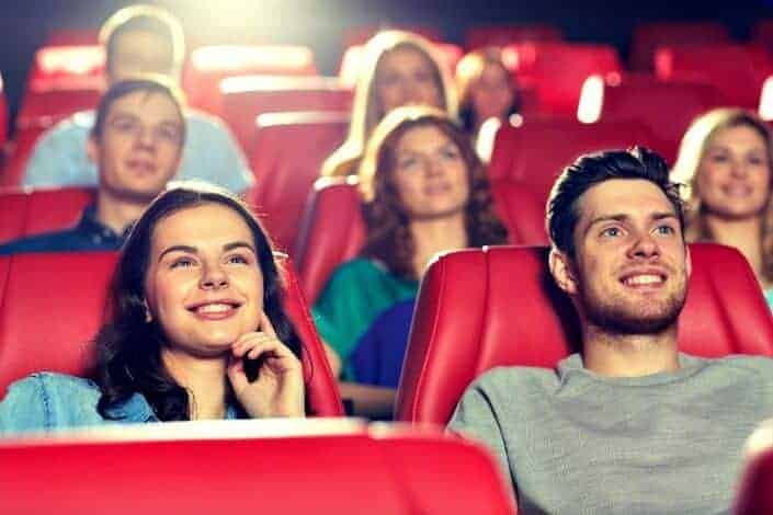 first date ideas - movie matinee